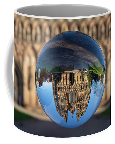 Lichfield Coffee Mug featuring the photograph Lichfield lens ball by Steev Stamford