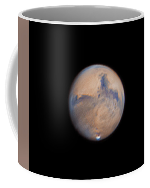 Mars Coffee Mug featuring the photograph Mars from 31st October 2020 by Prabhu Astrophotography