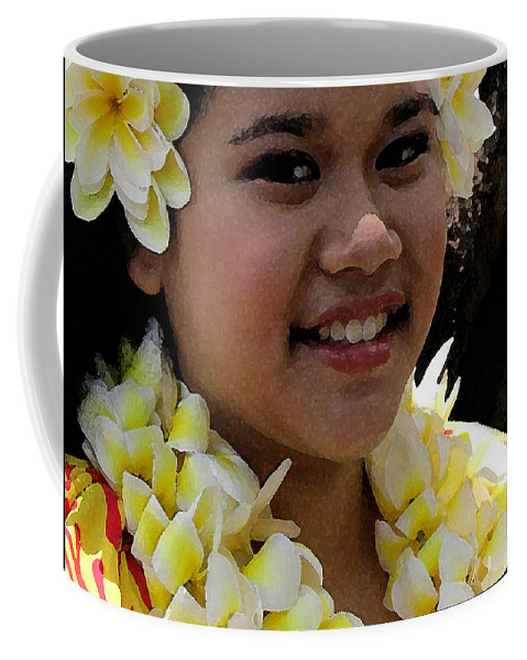 James Temple Coffee Mug featuring the photograph Molokai Dancer by James Temple