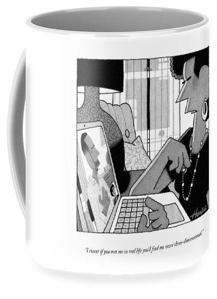 More Three Dimensional Coffee Mug