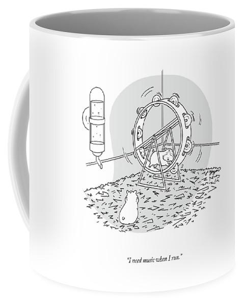 Music When I Run Coffee Mug