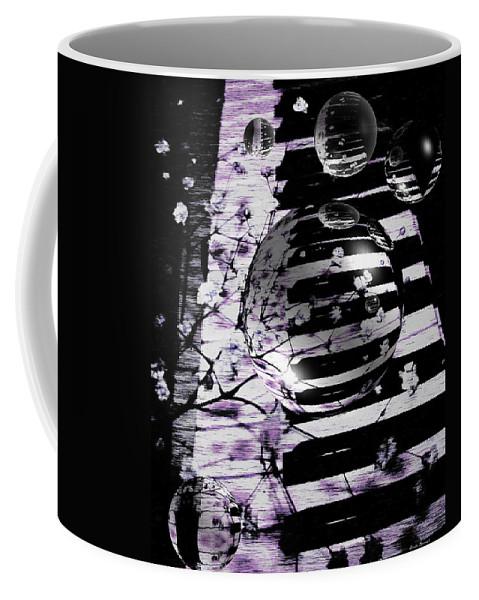 Piano Art Coffee Mug featuring the photograph Music World by Linda Sannuti