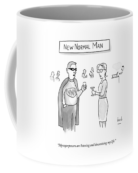 New Normal Man Coffee Mug