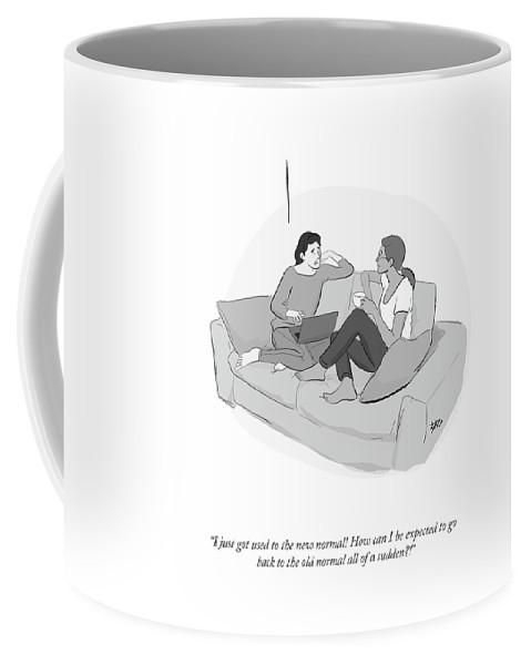 New Normal Old Normal  Coffee Mug