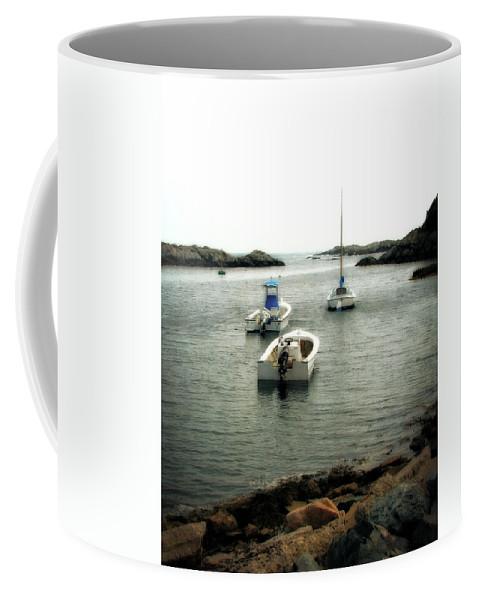 Ocean Coffee Mug featuring the photograph Newport Rhode Island Shoreline by Michelle Calkins
