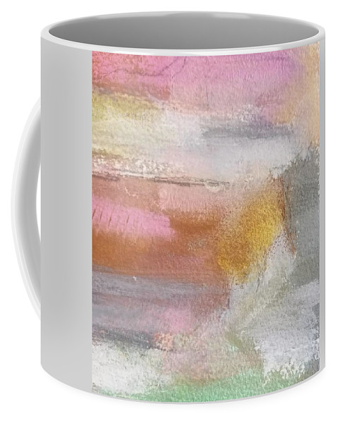 Abstract Coffee Mug featuring the painting Nothing Can Dim the Light by Patricia Byron