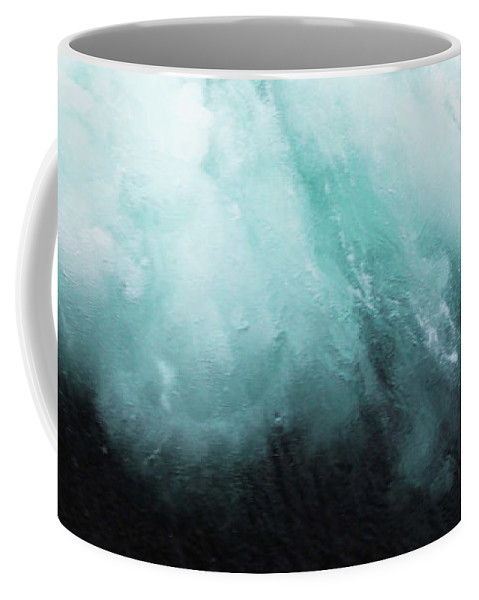 Ocean Coffee Mug featuring the photograph Ocean Spray by Cassia Beck