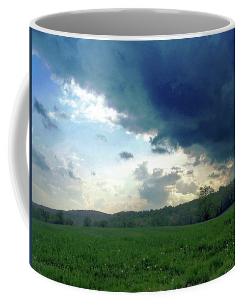 Nature Coffee Mug featuring the photograph Open Spaces by Holly Morris