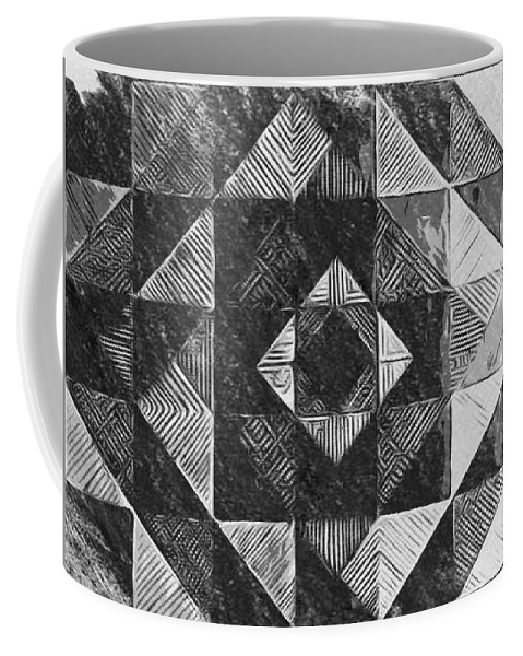 Art Coffee Mug featuring the digital art Originated From Within by Andrew Johnson