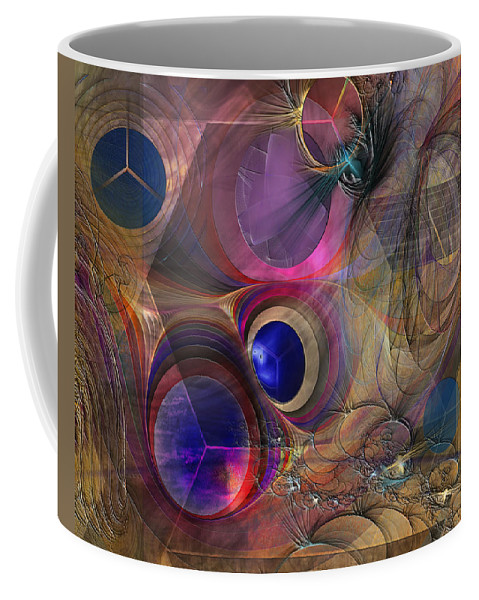 Peace Coffee Mug featuring the digital art Peace Will Come by John Robert Beck