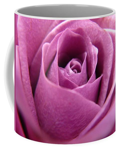 Rhonda Barrett Coffee Mug featuring the photograph Purple Beauty by Rhonda Barrett