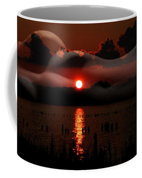 Clay Coffee Mug featuring the photograph Sensual Sunset by Clayton Bruster