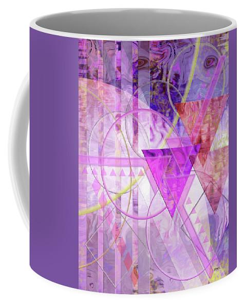 Shibumi Coffee Mug featuring the digital art Shibumi Spirit by John Robert Beck