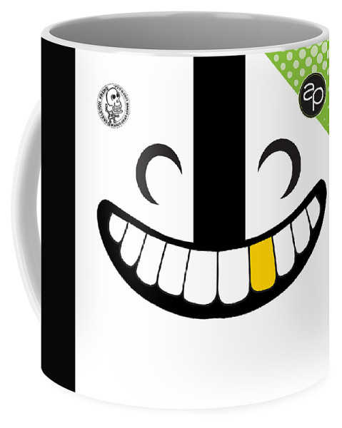 Art Of The Parade Society Coffee Mug featuring the digital art Skeleton Krewe by Art of the Parade Society