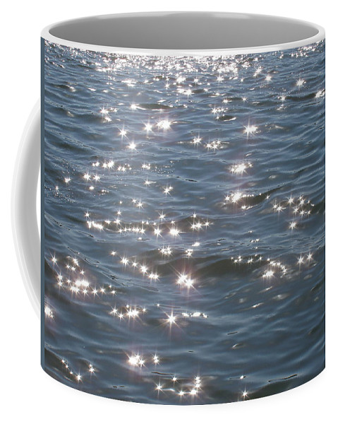 Sparkle Coffee Mug featuring the photograph Sparkling Waters by Deborah Crew-Johnson