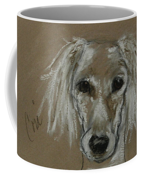 Drawing Coffee Mug featuring the drawing Special Moments by Cori Solomon