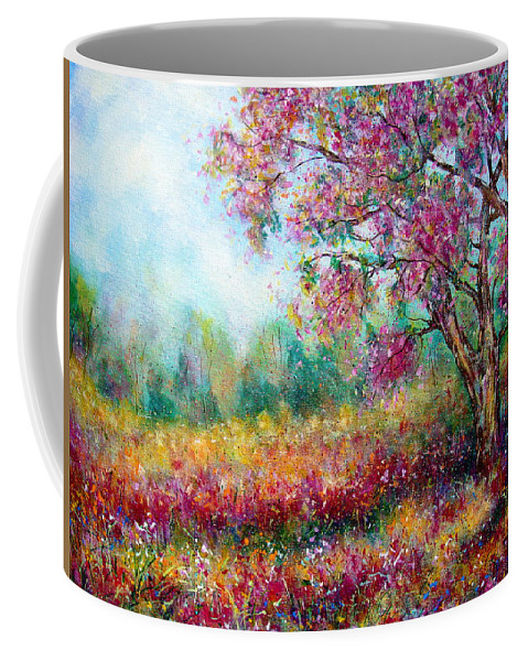 Landscape Coffee Mug featuring the painting Spring by Natalie Holland