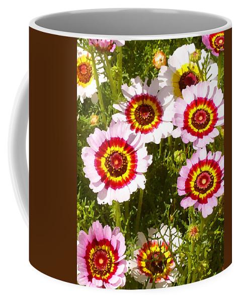 Wildflower Coffee Mug featuring the painting Spring Wildflowers by Amy Vangsgard