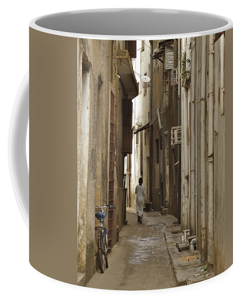 3scape Coffee Mug featuring the photograph Stone Town by Adam Romanowicz