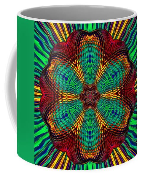 Coffee Mug featuring the digital art Tesla's Design by Steve Solomon