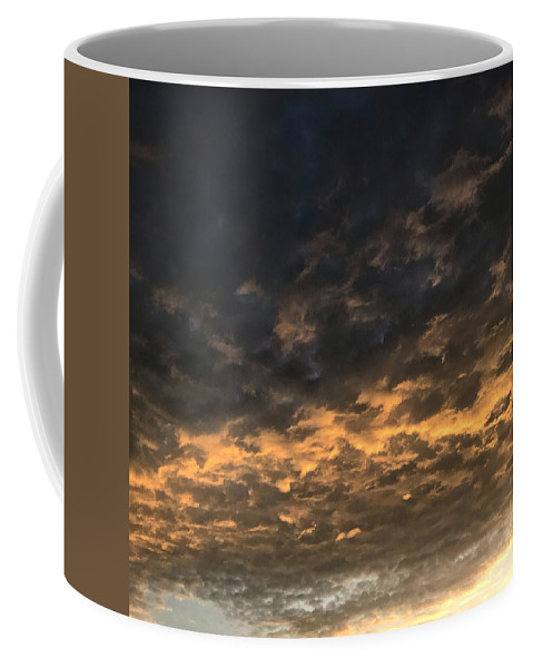 Coffee Mug featuring the photograph Texas Storm Clouds by Jose Machin
