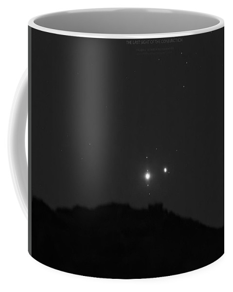 Coffee Mug featuring the photograph The Last sight of the Conjunction by Prabhu Astrophotography
