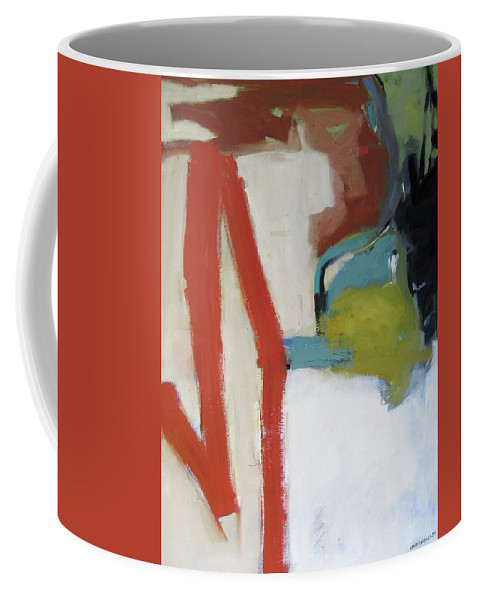 The Mark Coffee Mug featuring the painting The Mark by Chris Gholson
