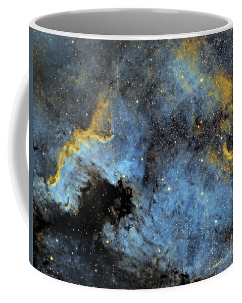 Nebula Coffee Mug featuring the photograph The North America Nebula by Prabhu Astrophotography