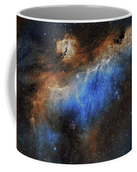 Astronomy Coffee Mug featuring the photograph The Seagull Nebula by Prabhu Astrophotography