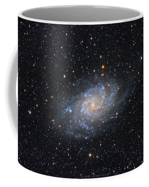 Galaxy Coffee Mug featuring the photograph Triangulum Galaxy by Prabhu Astrophotography