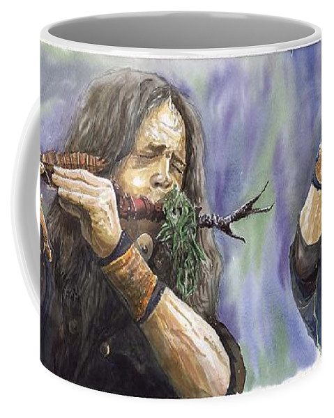 Watercolor Coffee Mug featuring the painting Varius Coloribus The Morning Song by Yuriy Shevchuk