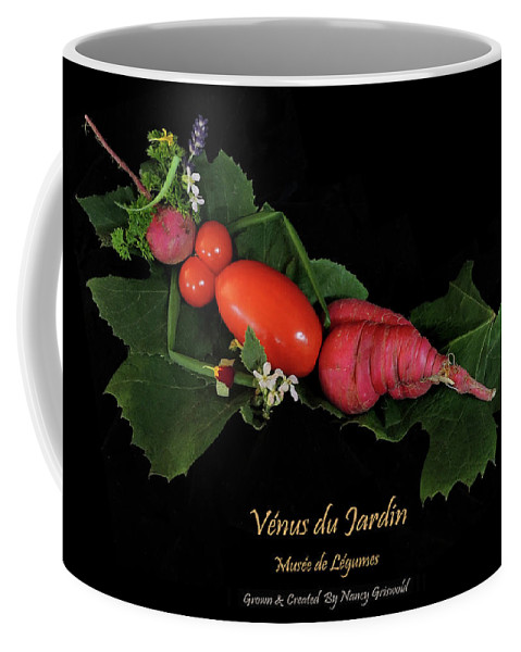 Vegetables Coffee Mug featuring the photograph Venus du Jardin by Nancy Griswold