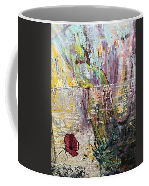 Flower Coffee Mug featuring the painting Sunset on Wilmington  by Peggy Blood