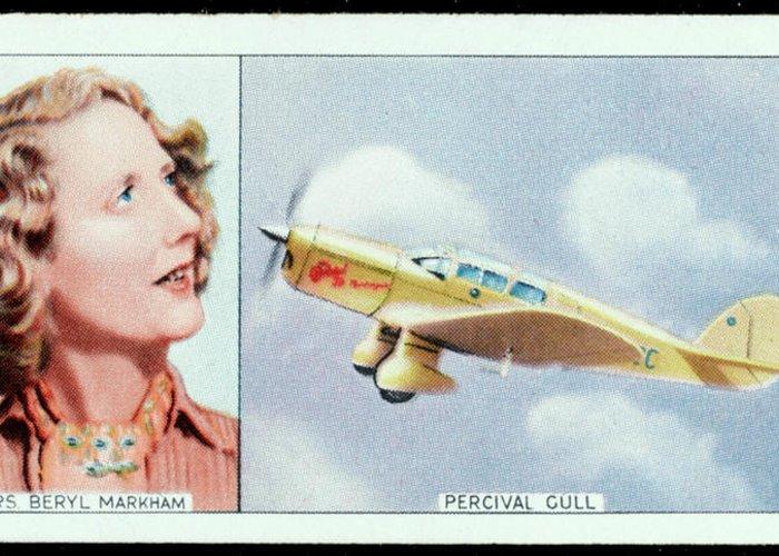Beryl Markham Greeting Cards