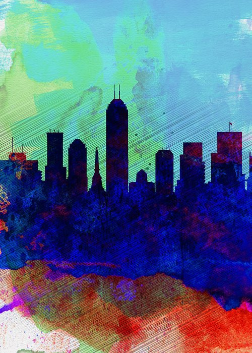 Indiana Landscapes Digital Art Greeting Cards