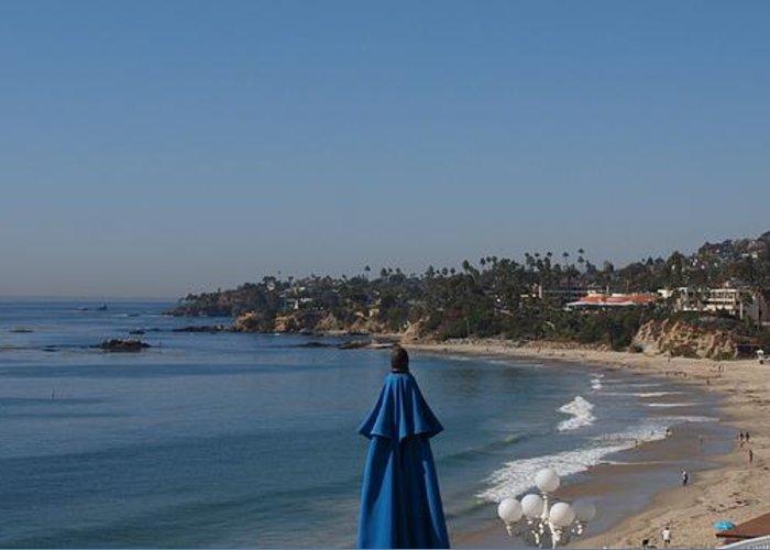 Redondo Beach Greeting Card featuring the photograph Laguna Beach by Jim Moore