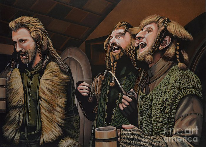 Dwarves Greeting Cards
