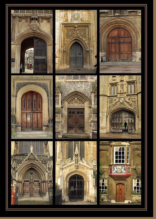 Door Greeting Card featuring the photograph Uk Doors by Christo Christov