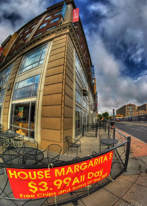 Allentown Greeting Card featuring the photograph 002 Salsaritas by Michael Frank Jr