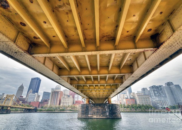Pittsburgh Greeting Card featuring the photograph 0309 Pittsburgh 4 by Steve Sturgill
