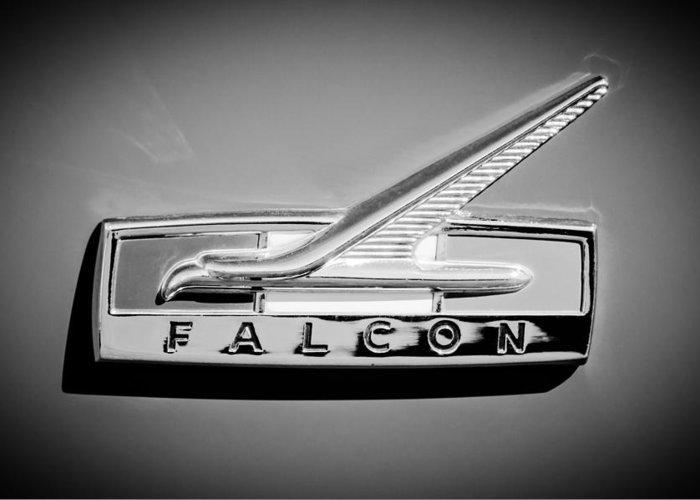 1964 Falcon Emblem Greeting Cards