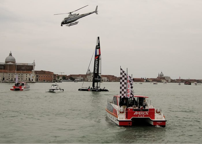Acws Greeting Card featuring the photograph Acws In Venice by Lorenzo Tonello