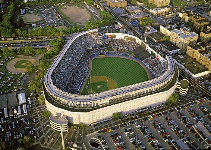 New York Baseball Parks Greeting Cards