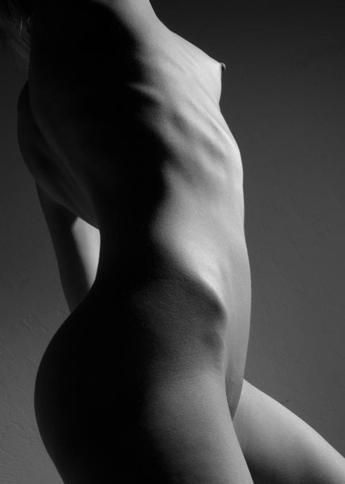 Nude Greeting Card featuring the photograph Bodyscape by Joe Kozlowski