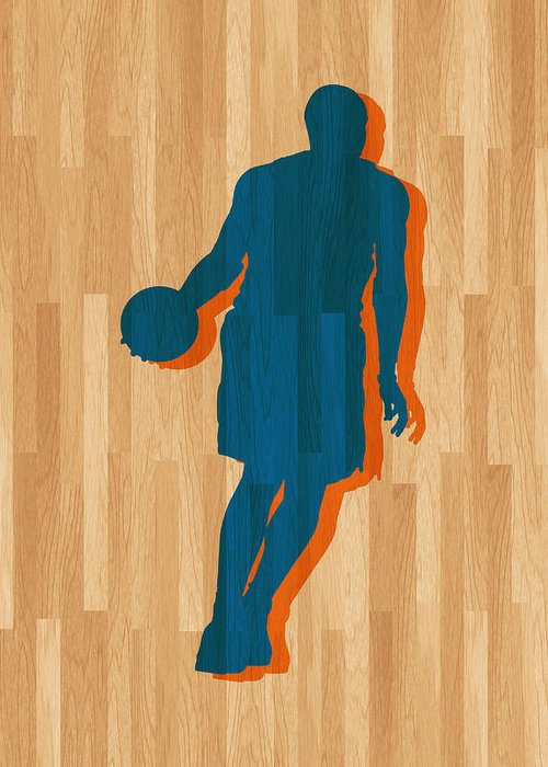 Anthony Greeting Card featuring the photograph Carmelo Anthony New York Knicks by Joe Hamilton