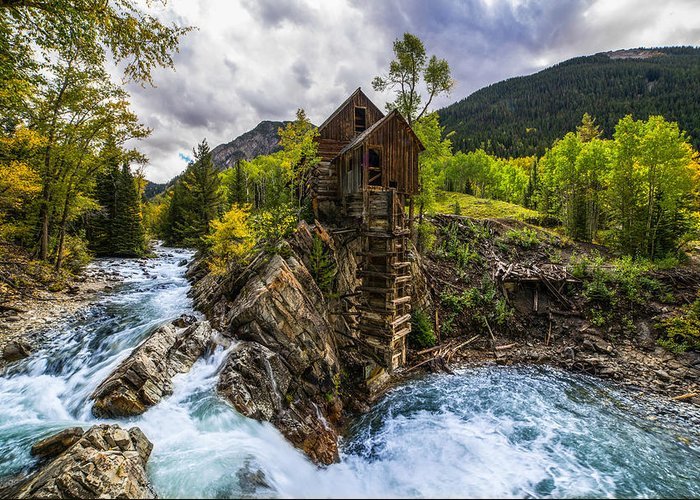 Crystal Mill Greeting Cards