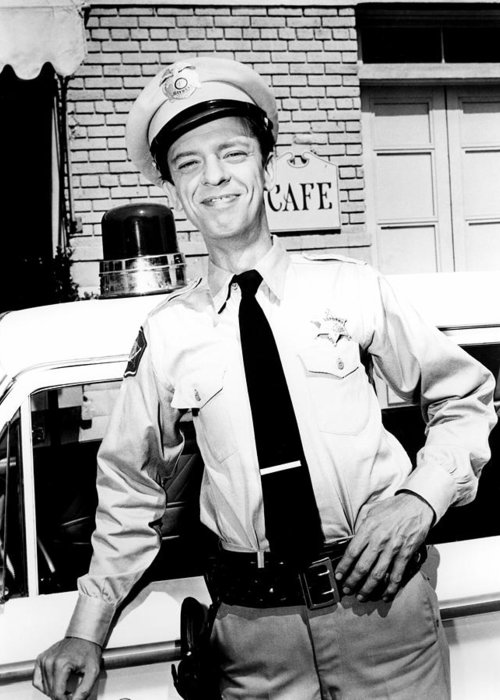 The Andy Griffith Show Greeting Card featuring the photograph Don Knotts In The Andy Griffith Show by Silver Screen