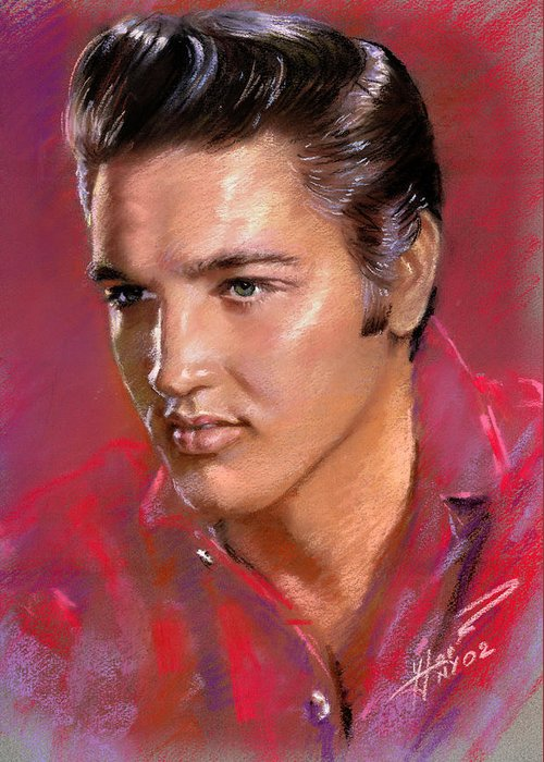Elvis Rock Greeting Cards