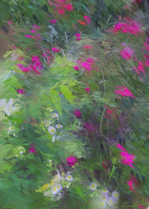 Floral Impressionism Greeting Card featuring the painting Expression Of Impressionism by Rick Todaro