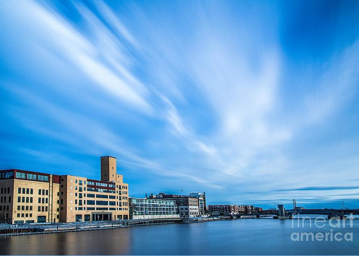 Bigstopper Greeting Card featuring the photograph Fox River by Andrew Slater
